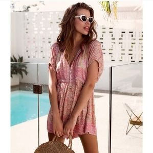 NWT Spell and the Gypsy Poinciana Romper S
